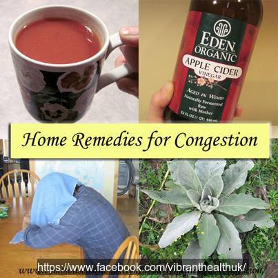 homeremedies congestion health foods