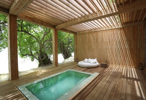 Maldives luxury hotel tropical spa