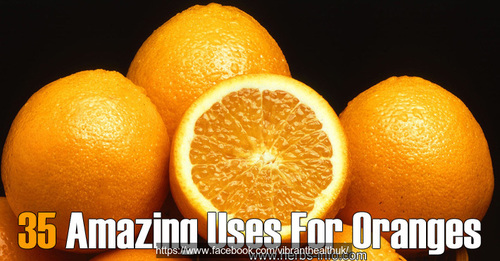 oranges beauty cleaning homeremedies