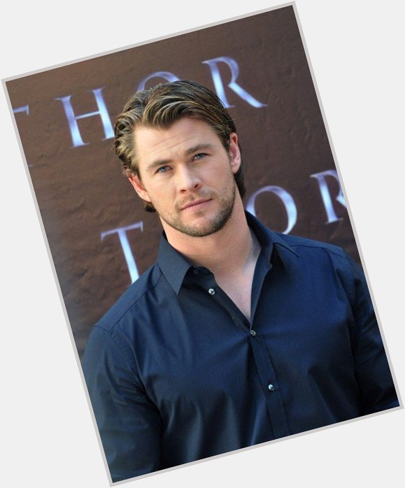 Chris Hemsworth birthday 2015