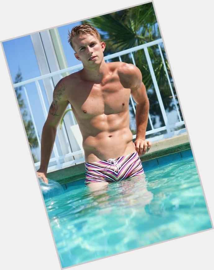 "<a href=""/hot-men/aaron-thornton/where-dating-news-photos"">Aaron Thornton</a> Athletic body,  blonde hair & hairstyles"