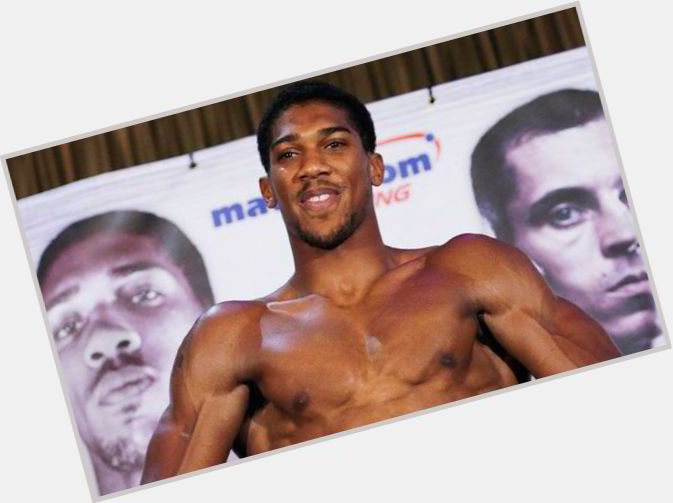 Anthony Joshua birthday 2015