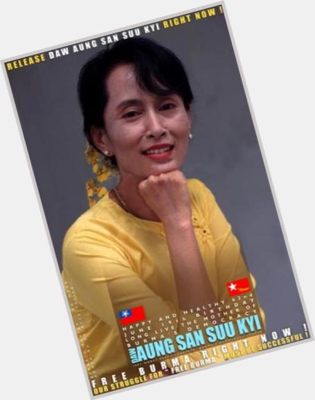 Aung San Suu Kyi hairstyle 7