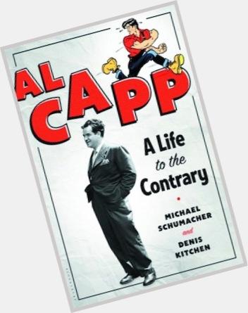 "<a href=""/hot-men/al-capp/is-he-capone"">Al Capp</a> Average body,  dark brown hair & hairstyles"