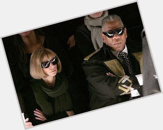 "<a href=""/hot-men/andre-leon-talley/is-he-married-still-vogue-racist-fat-again"">Andre Leon Talley</a> Large body,  salt and pepper hair & hairstyles"
