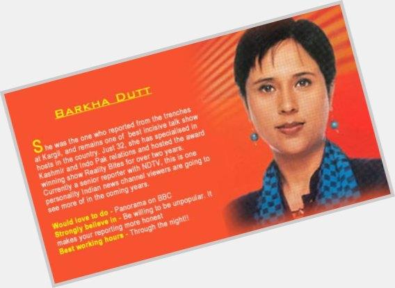 Barkha Dutt dating 2