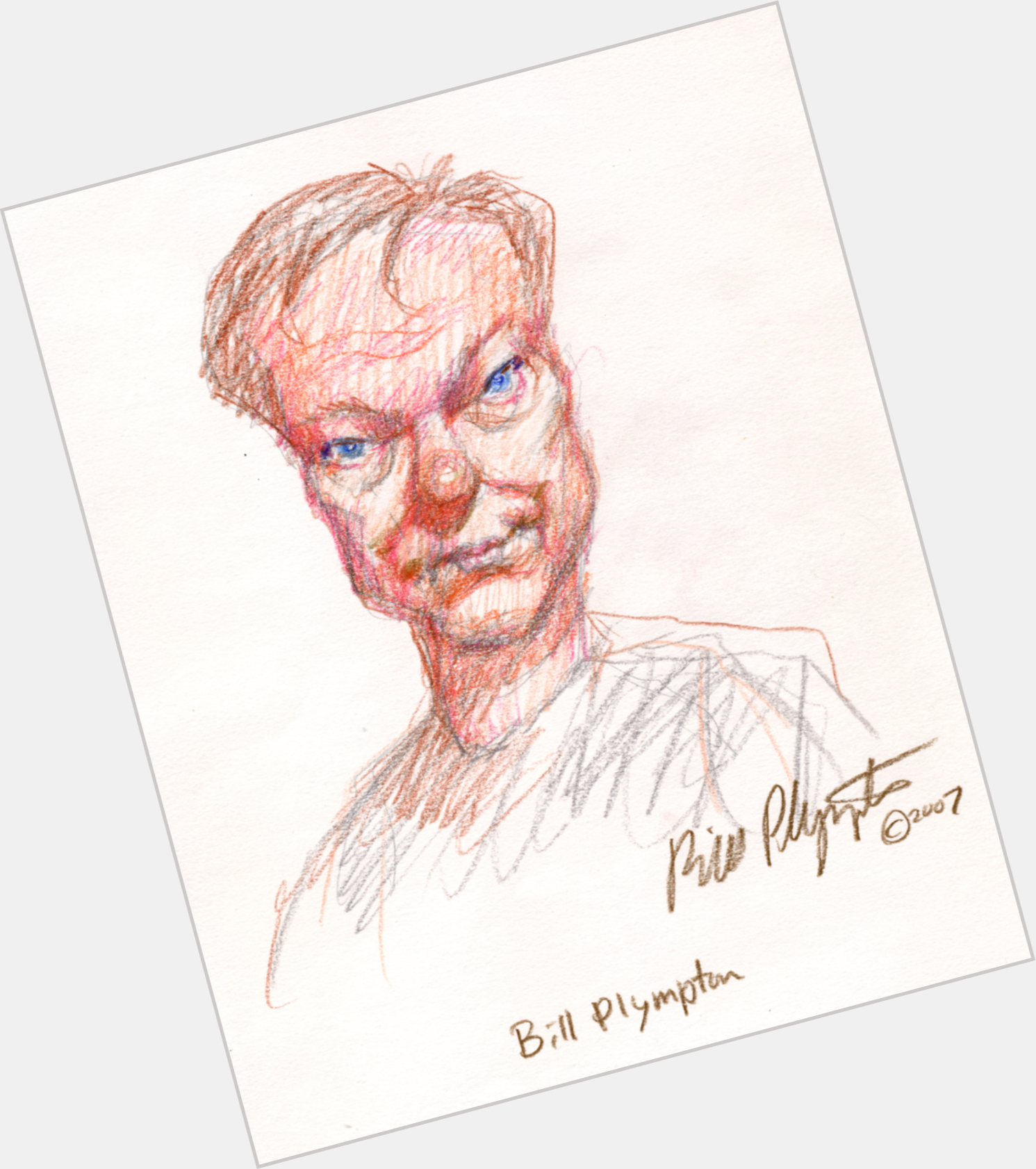 Bill Plympton birthday 2015