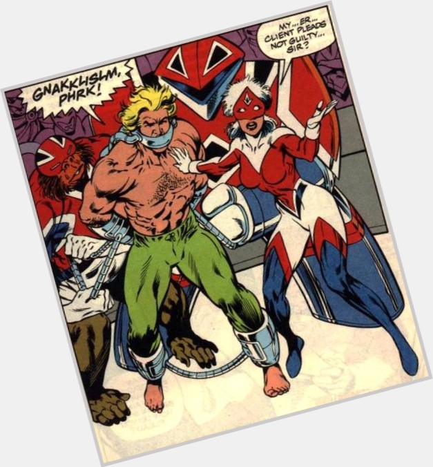 "<a href=""/hot-men/captain-britain/where-dating-news-photos"">Captain Britain</a> Bodybuilder body,  blonde hair & hairstyles"
