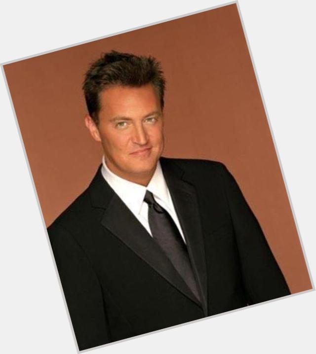 Chandler Bing dark brown hair & hairstyles Athletic body,