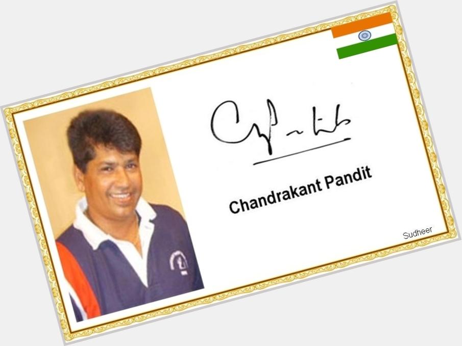 Chandrakant Pandit birthday 2015