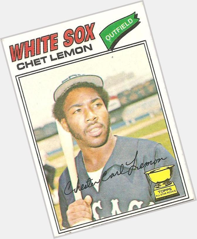 Chet Lemon birthday 2015