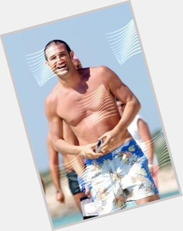 Ciro Ferrara dark brown hair & hairstyles Athletic body,