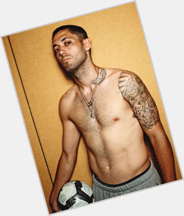 Clint Dempsey dark brown hair & hairstyles Athletic body,