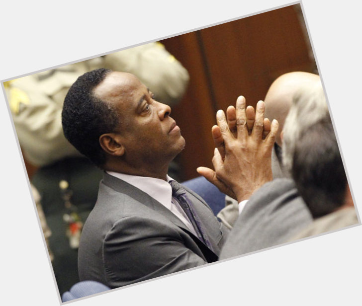 Conrad Murray dark brown hair & hairstyles Athletic body,