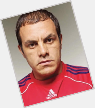 Cuauhtemoc Blanco dark brown hair & hairstyles Athletic body,