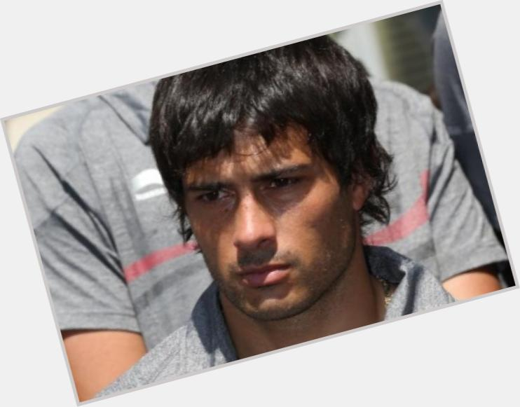 Dario Cvitanich dark brown hair & hairstyles Athletic body,