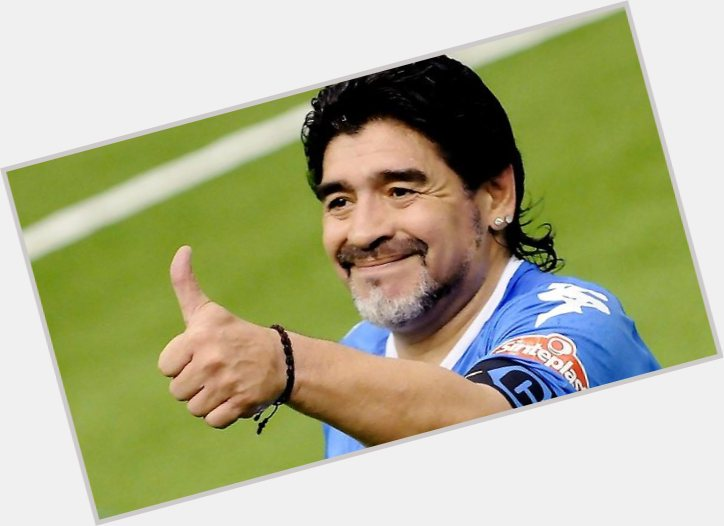 Diego Maradona birthday 2015