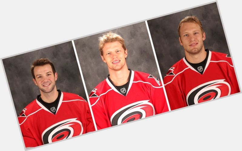 Eric Staal blonde hair & hairstyles Athletic body,