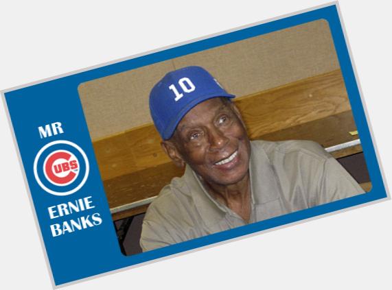 ernie banks baseball card 2
