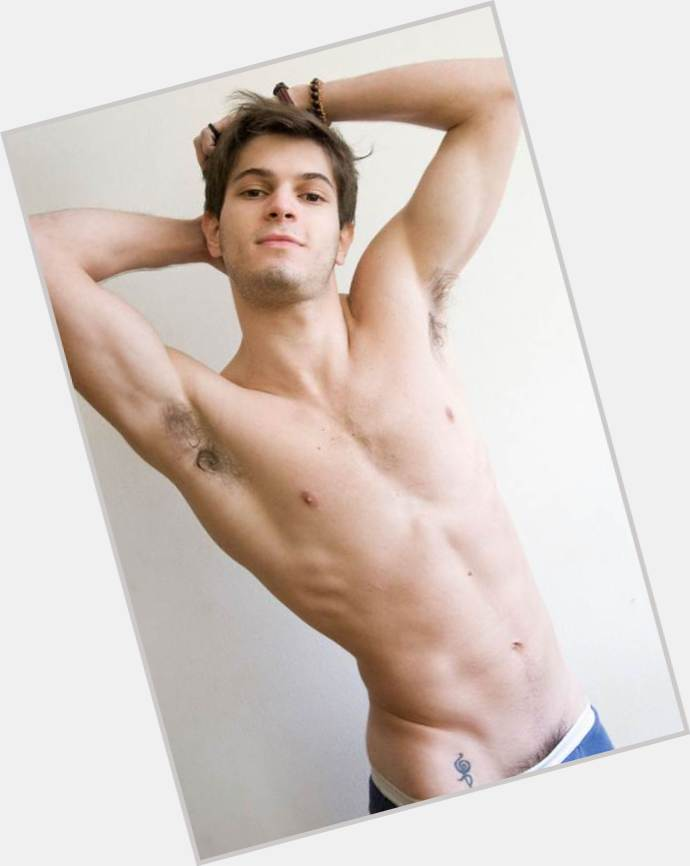 Federico Devito dark brown hair & hairstyles Athletic body,