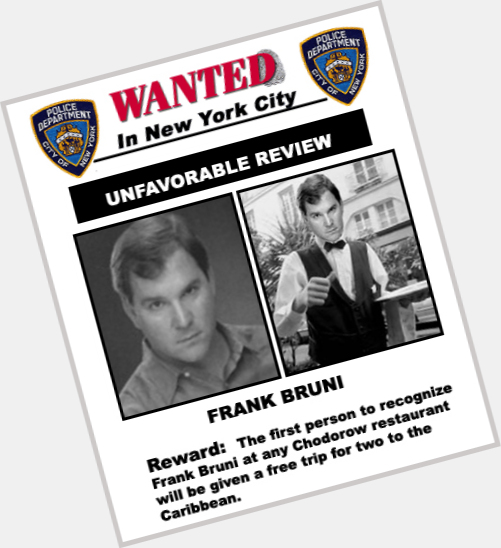 Frank Bruni birthday 2015