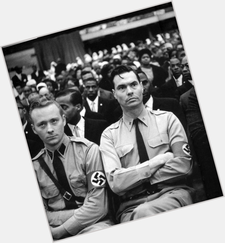"<a href=""/hot-men/george-lincoln-rockwell/where-dating-news-photos"">George Lincoln Rockwell</a>  dark brown hair & hairstyles"
