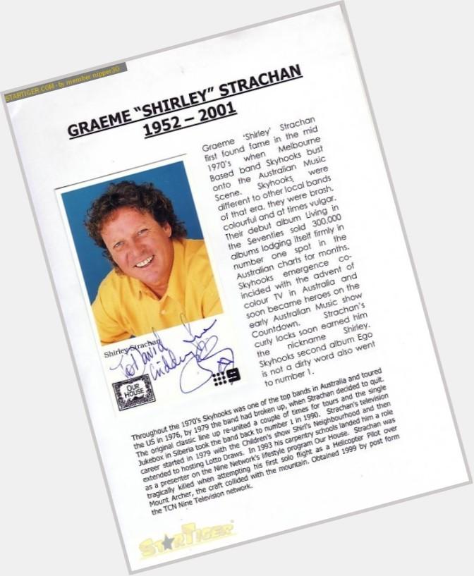 Graeme Strachan birthday 2015