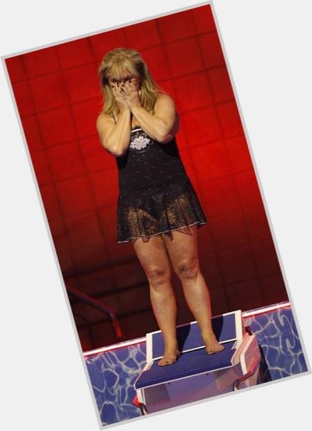 """<a href=""""/hot-women/helen-lederer/where-dating-news-photos"""">Helen Lederer</a> Average body,  blonde hair & hairstyles"""