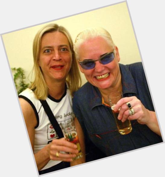 Hella Von Sinnen dyed blonde hair & hairstyles Voluptuous body,