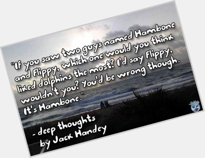 "<a href=""/hot-men/jack-handey/where-dating-news-photos"">Jack Handey</a>"