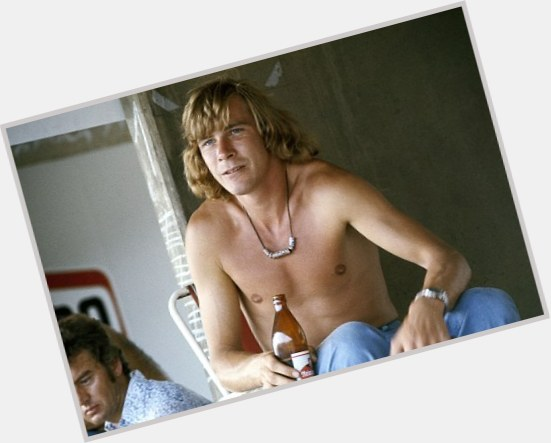 James Hunt blonde hair & hairstyles Athletic body,