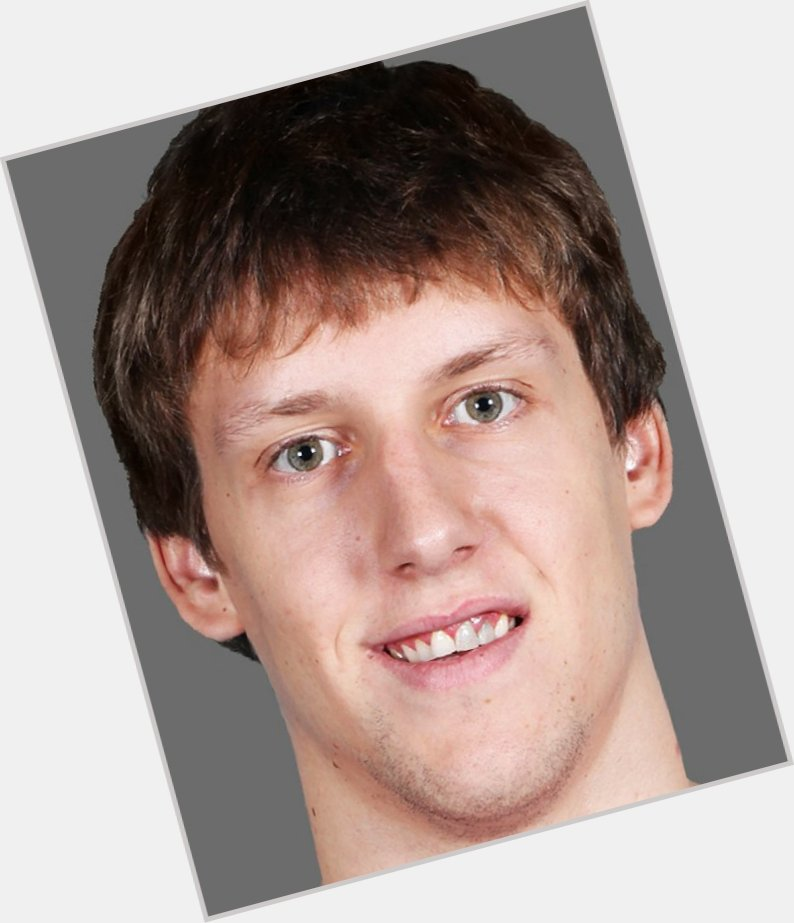 Jan Vesely light brown hair & hairstyles Athletic body,