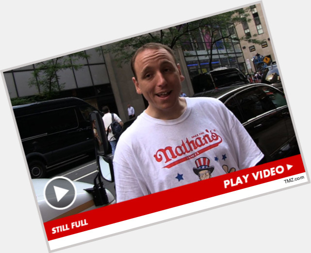 Joey Chestnut light brown hair & hairstyles Athletic body,