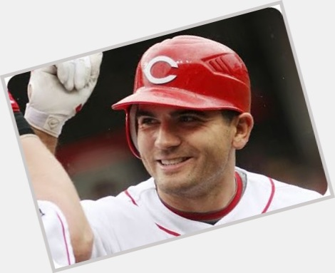 Joey Votto dark brown hair & hairstyles Athletic body,