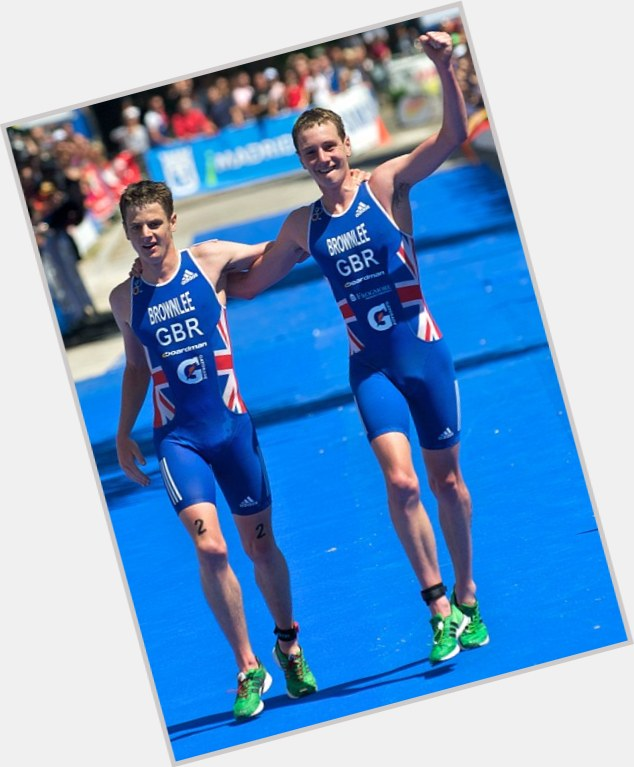 """<a href=""""/hot-men/jonathan-brownlee/where-dating-news-photos"""">Jonathan Brownlee</a> Slim body,  light brown hair & hairstyles"""