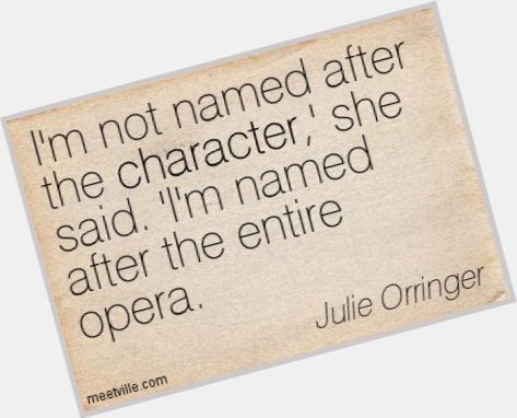 Julie Orringer dating 8