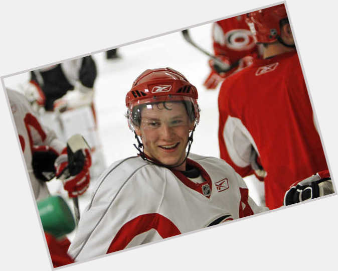 Jeff Skinner dark brown hair & hairstyles Athletic body,