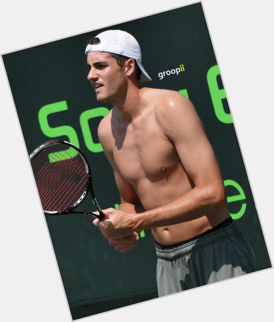 "<a href=""/hot-men/john-isner/is-he-us-open-nice-guy-single-still"">John Isner</a> Athletic body,  black hair & hairstyles"