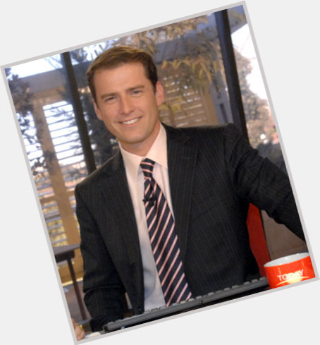 Karl Stefanovic dark brown hair & hairstyles Athletic body,
