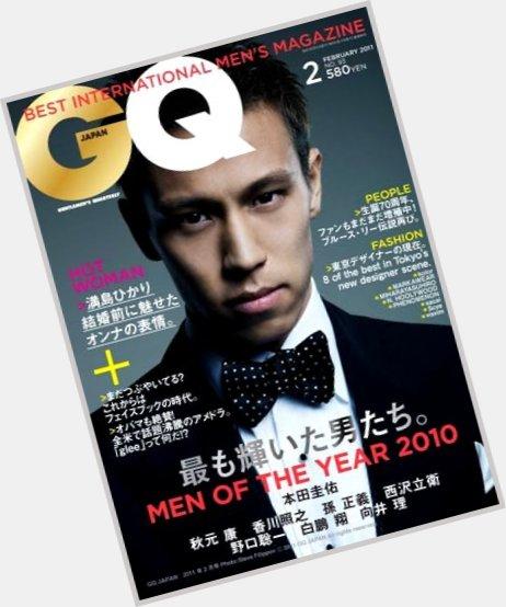 Keisuke Honda hairstyle 4