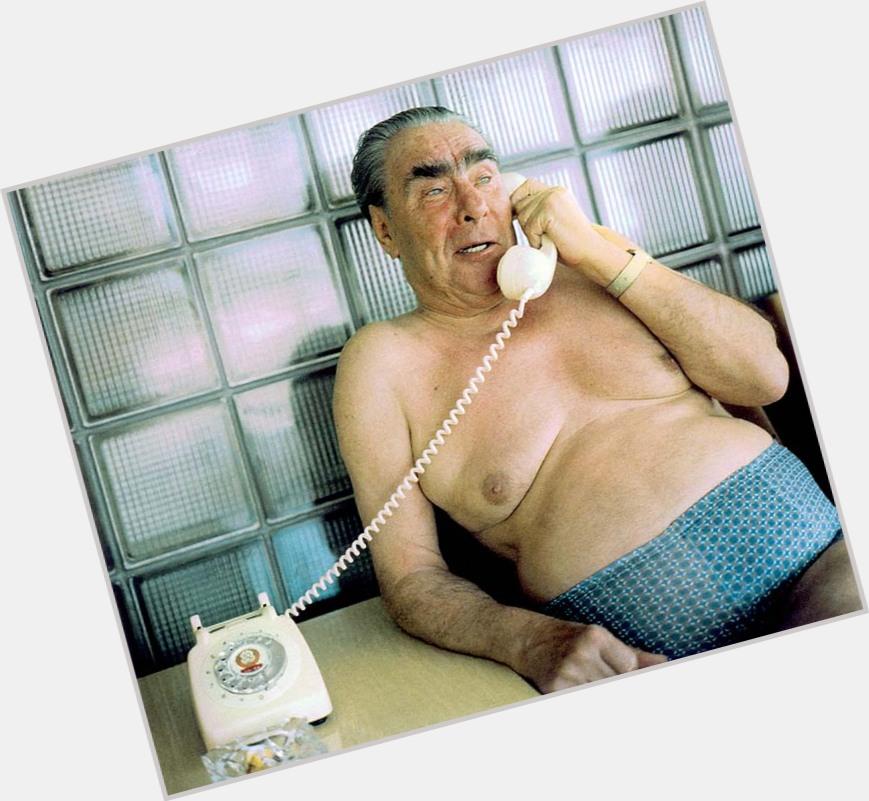 "<a href=""/hot-men/leonid-brezhnev/where-dating-news-photos"">Leonid Brezhnev</a> Large body,  dark brown hair & hairstyles"