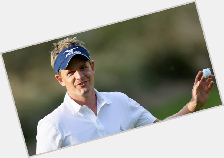 Luke Donald birthday 2015