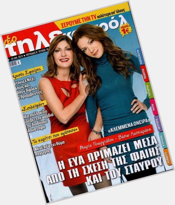"<a href=""/hot-women/maria-georgiadou/where-dating-news-photos"">Maria Georgiadou</a> Average body,  dyed brown hair & hairstyles"