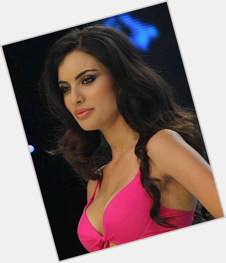 """<a href=""""/hot-women/maria-tsagaraki/where-dating-news-photos"""">Maria Tsagaraki</a> Slim body,  dark brown hair & hairstyles"""