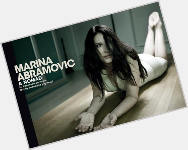 Marina Abramovic hairstyle 3