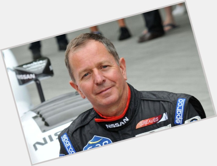 Martin Brundle birthday 2015