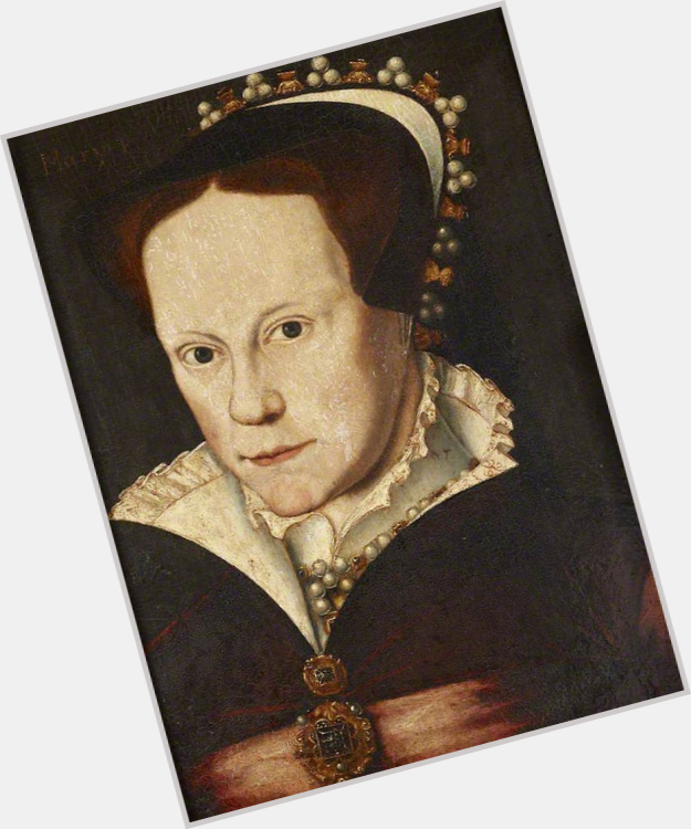 "<a href=""/hot-women/mary-i-of-england/is-she-where-buried-why-called-bloody"">Mary I Of England</a> Slim body,  dark brown hair & hairstyles"