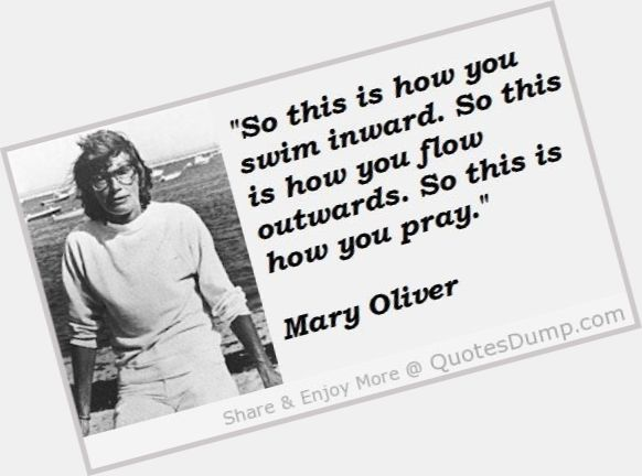 Mary Oliver dating 2