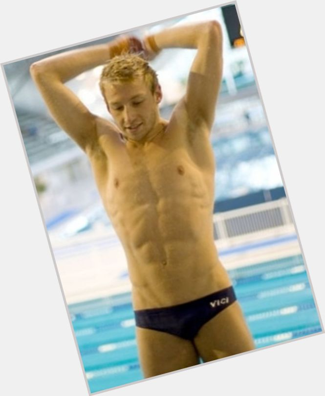Matthew Mitcham blonde hair & hairstyles Athletic body,