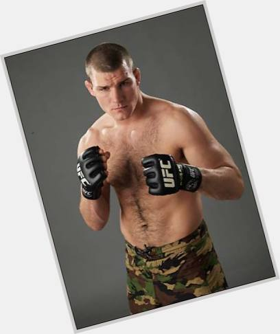 Michael Bisping dark brown hair & hairstyles Athletic body,